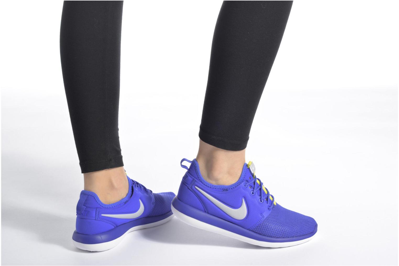 Nike Roshe Two (Gs) Paramount Blue/Wolf Grey-Electrolime