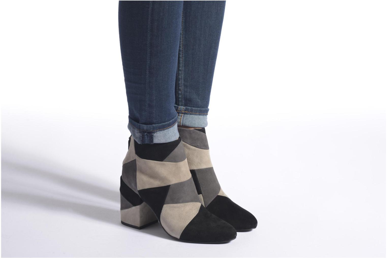 Bottines et boots SENSO Jessica Gris vue bas / vue portée sac