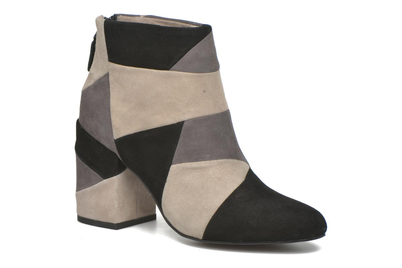 Bottines et boots SENSO Jessica Gris vue détail/paire