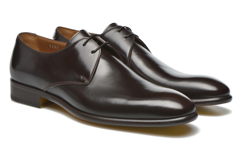 Chaussures à lacets Doucal's Omar Warren Tm Marron vue 3/4