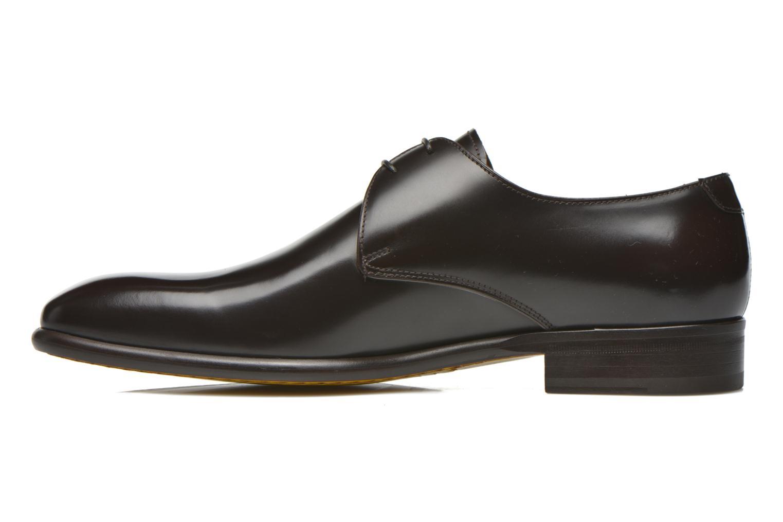 Chaussures à lacets Doucal's Omar Warren Tm Marron vue face