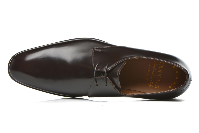 Chaussures à lacets Doucal's Omar Warren Tm Marron vue gauche