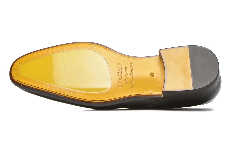 Chaussures à lacets Doucal's Omar Warren Tm Marron vue haut