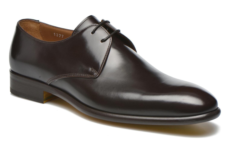 Chaussures à lacets Doucal's Omar Warren Tm Marron vue détail/paire