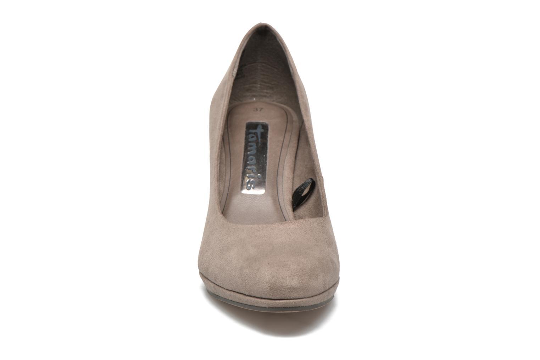 Escarpins Tamaris Cajanus Gris vue portées chaussures