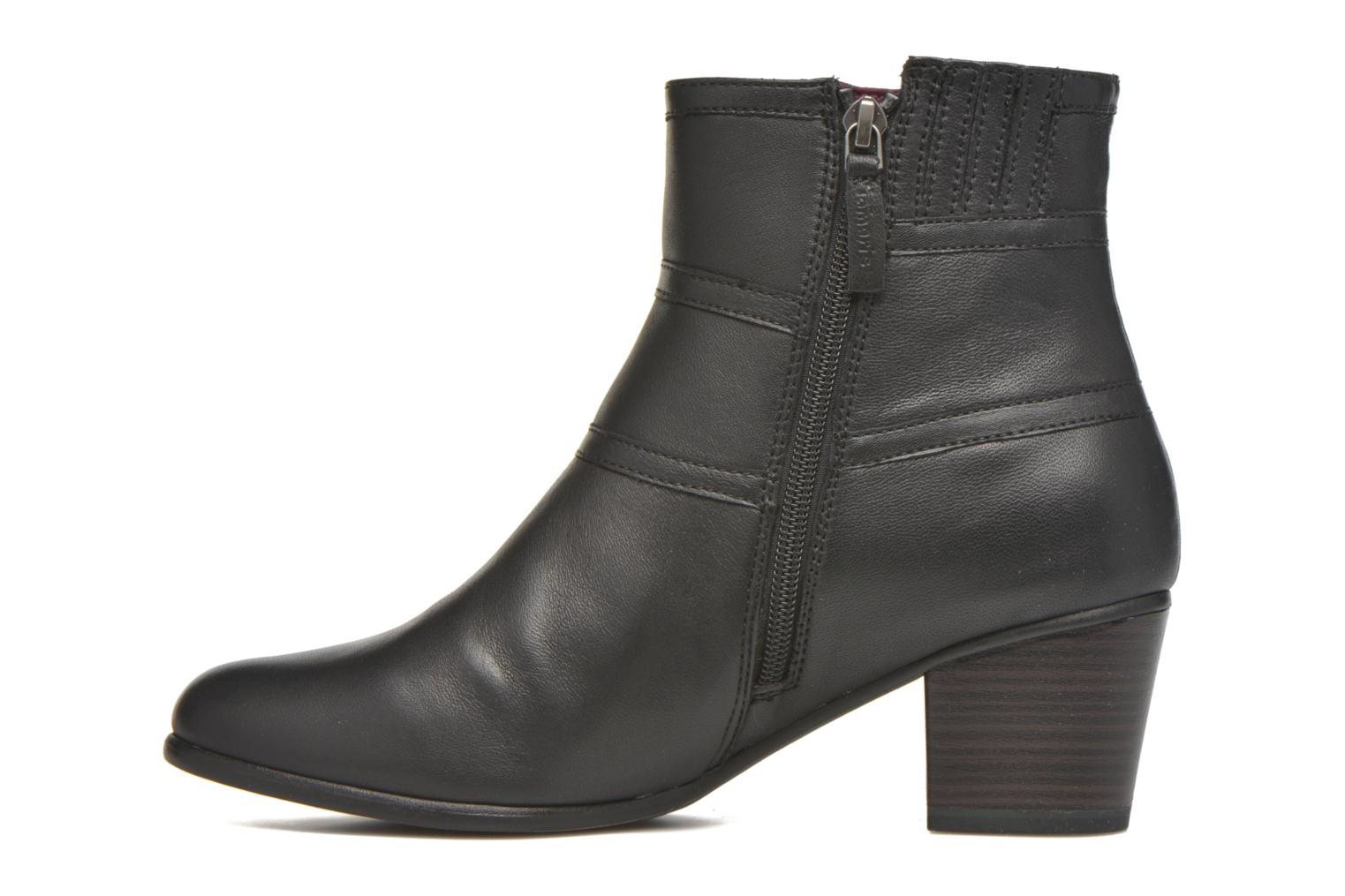 Bottines et boots Tamaris Calliandra Noir vue face