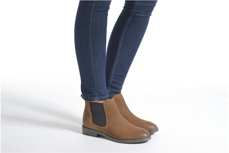 Bottines et boots Tamaris Capparis Marron vue bas / vue portée sac