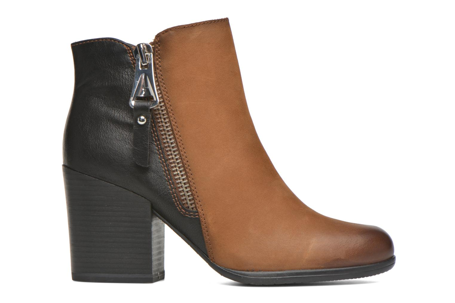 Ankle boots Tamaris Russelia Brown back view