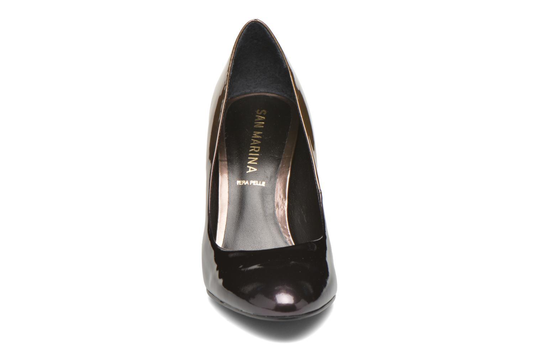 Escarpins San Marina Gaia Or et bronze vue portées chaussures