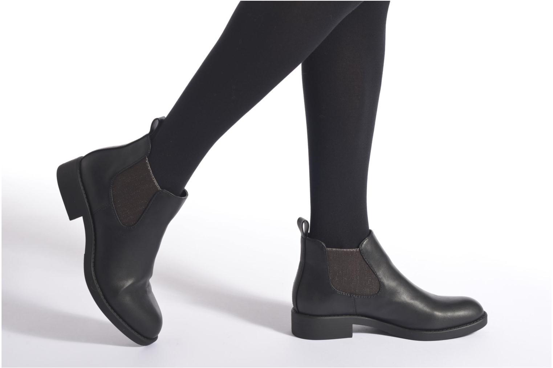 Bottines et boots San Marina Comedie Noir vue bas / vue portée sac