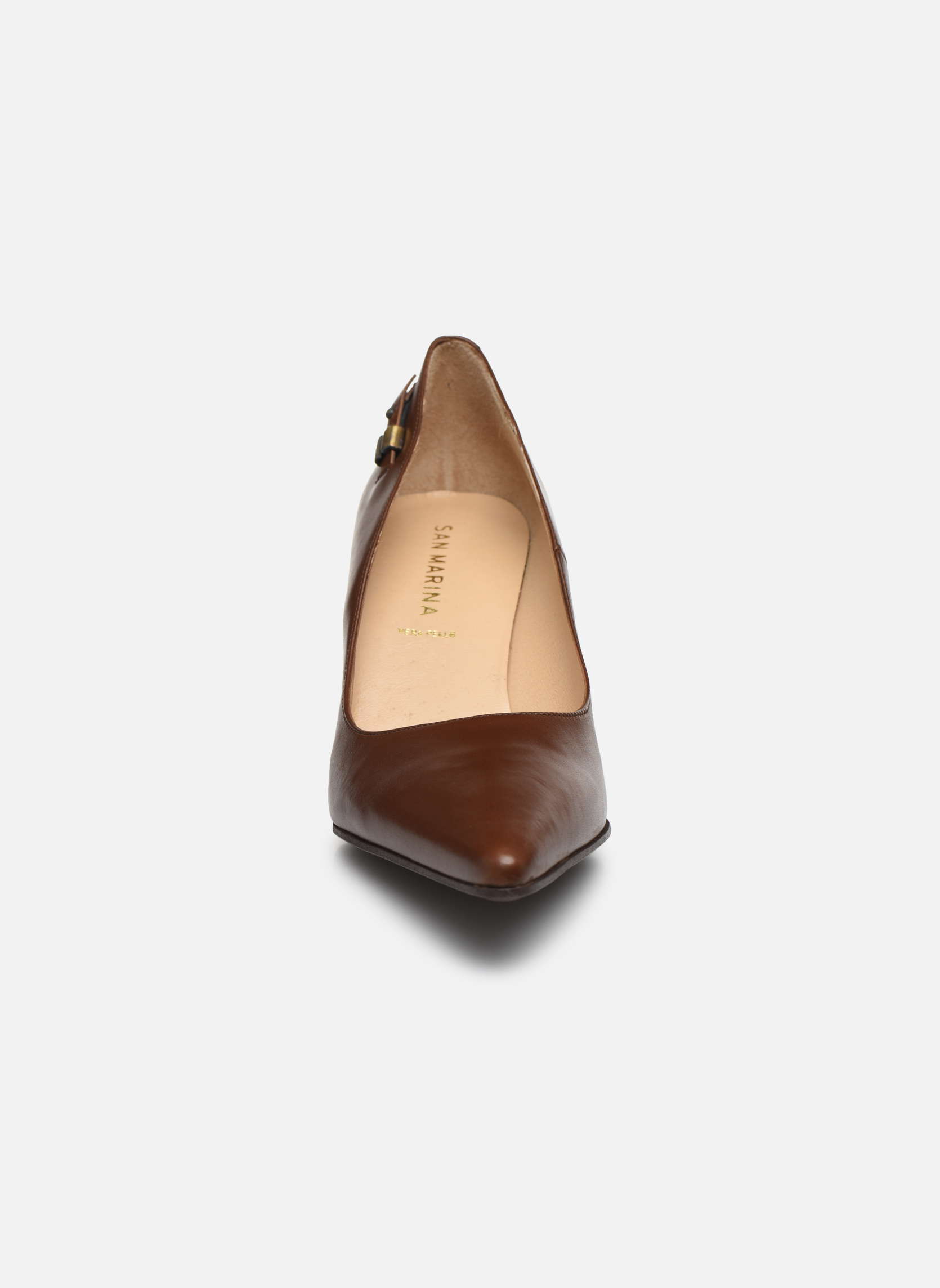 Escarpins San Marina America Marron vue portées chaussures