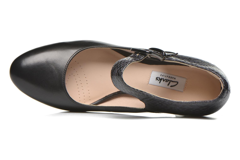 Kendra Gaby Black Combi Leather