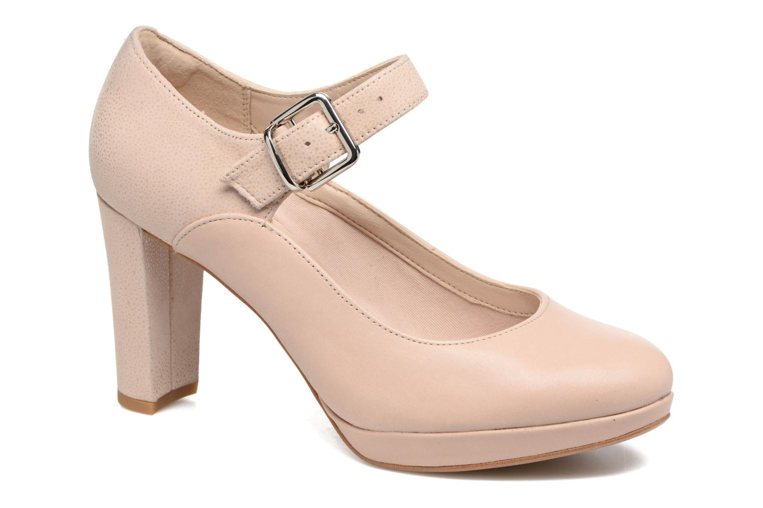 Marques Chaussure femme Clarks femme Kendra Gaby Nude combi