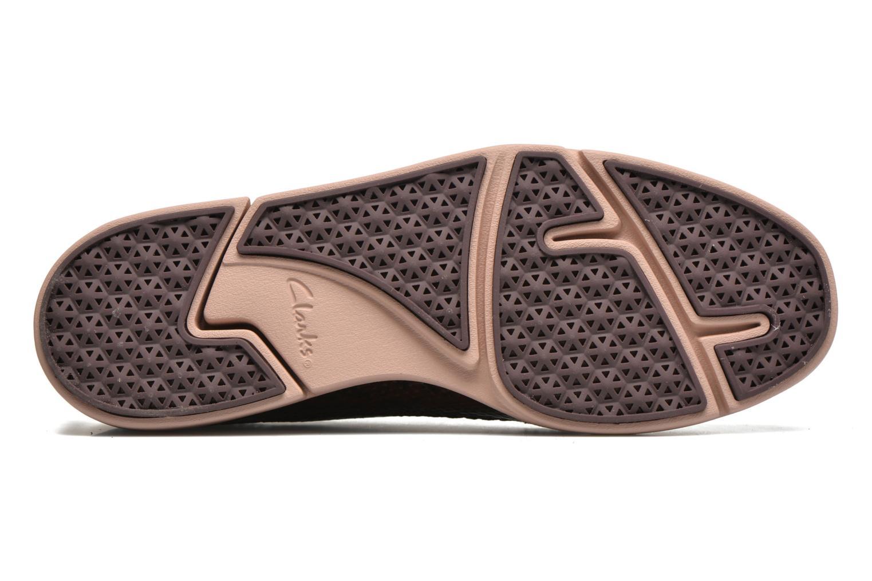 Chaussures à lacets Clarks Tri Nia Marron vue haut
