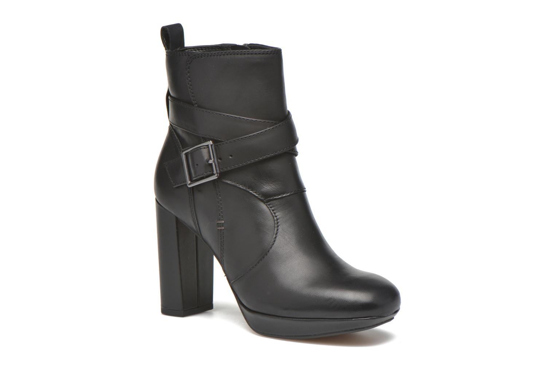 Clarks Gabriel Mix Ankle Boots Color Black  Women