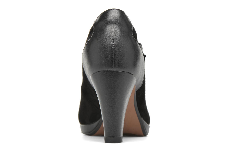 Zapatos de tacón Clarks Chorus Halo Negro vistra trasera