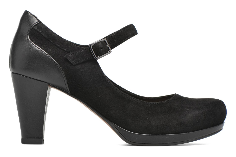 Zapatos de tacón Clarks Chorus Halo Negro vista lateral izquierda