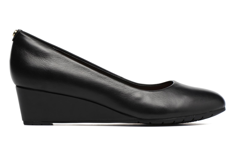 Vendra Bloom Black leather