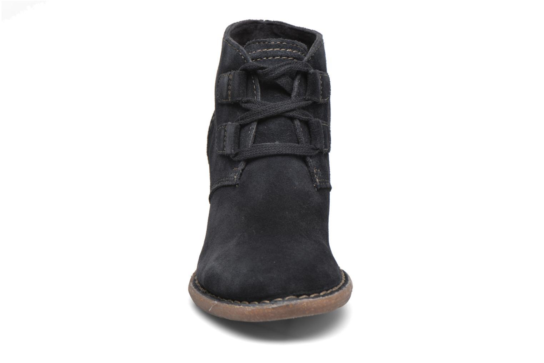 Bottines et boots Clarks Carleta Lyon Bleu vue portées chaussures