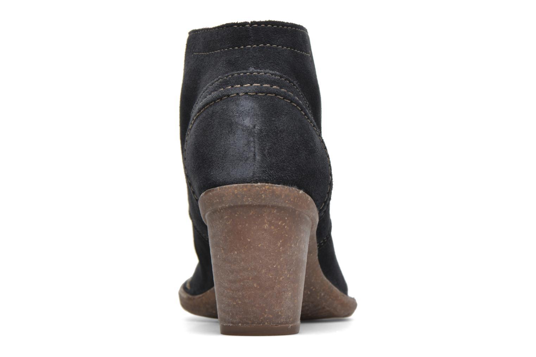 Bottines et boots Clarks Carleta Lyon Bleu vue droite