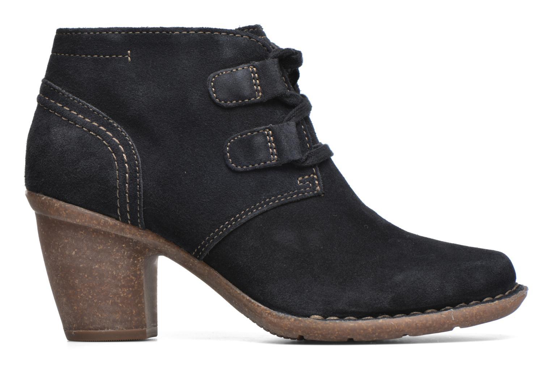 Bottines et boots Clarks Carleta Lyon Bleu vue derrière