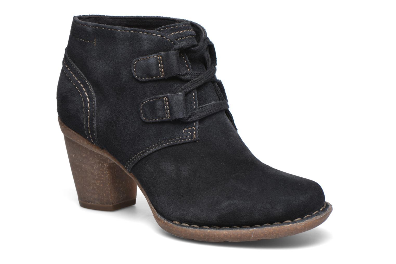 Bottines et boots Clarks Carleta Lyon Bleu vue détail/paire