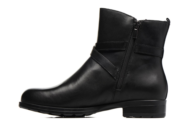 Bottines et boots Clarks CheshuntBe GTX Noir vue face