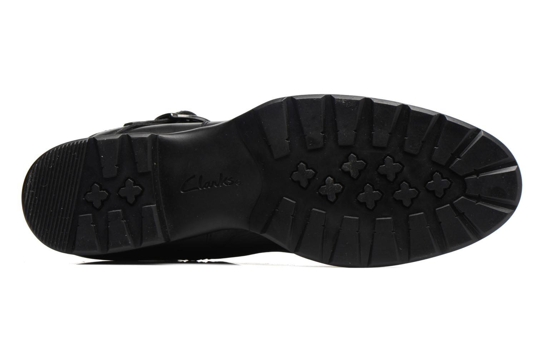 Bottines et boots Clarks CheshuntBe GTX Noir vue haut