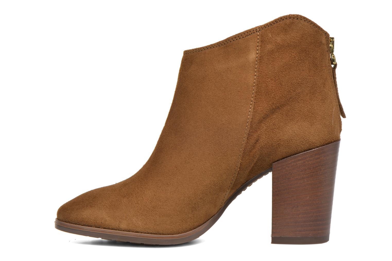 Bottines et boots Clarks Lora Lana Marron vue face