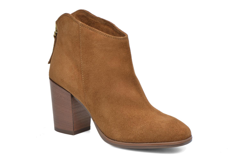 Bottines et boots Clarks Lora Lana Marron vue détail/paire
