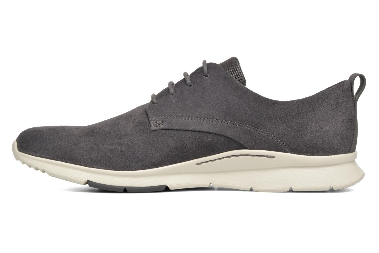 Chaussures à lacets Clarks Tynamo Walk Gris vue face