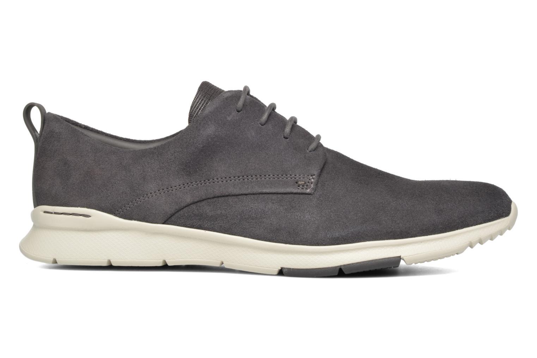 Chaussures à lacets Clarks Tynamo Walk Gris vue derrière