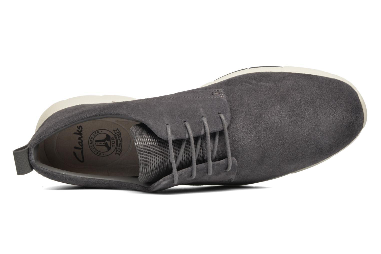 Chaussures à lacets Clarks Tynamo Walk Gris vue gauche