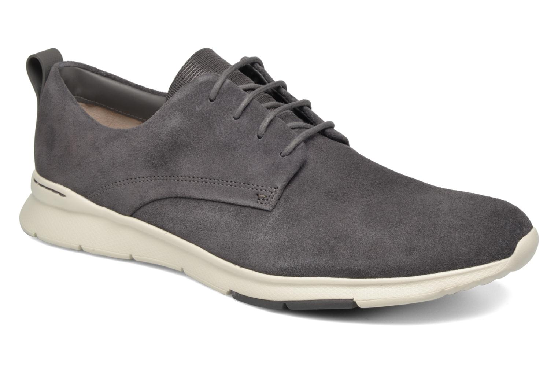 Chaussures à lacets Clarks Tynamo Walk Gris vue détail/paire