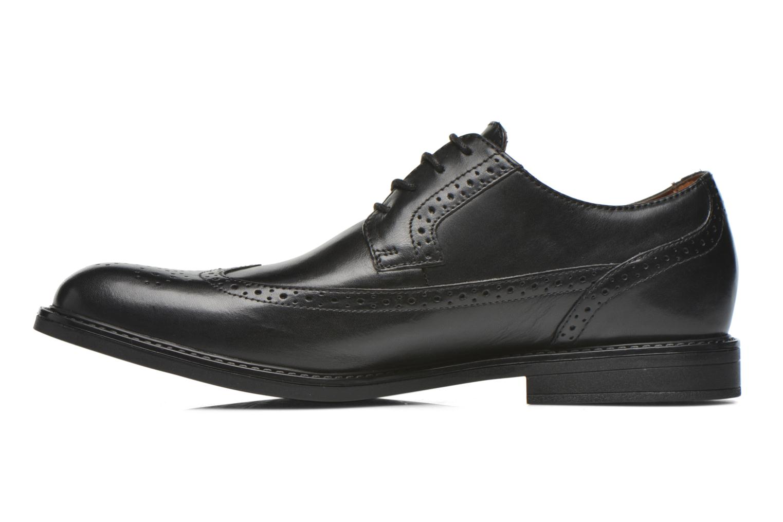 Zapatos con cordones Clarks Beckfield Limit Negro vista de frente