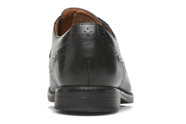 Zapatos con cordones Clarks Beckfield Limit Negro vista lateral derecha