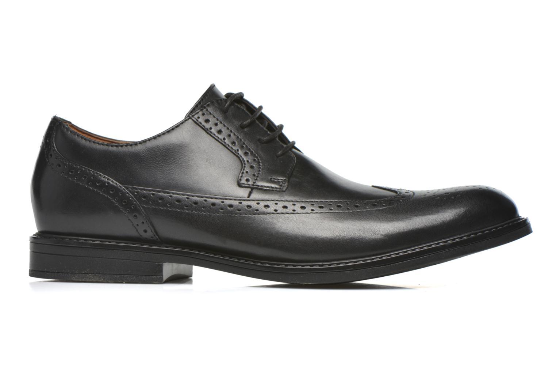 Zapatos con cordones Clarks Beckfield Limit Negro vistra trasera