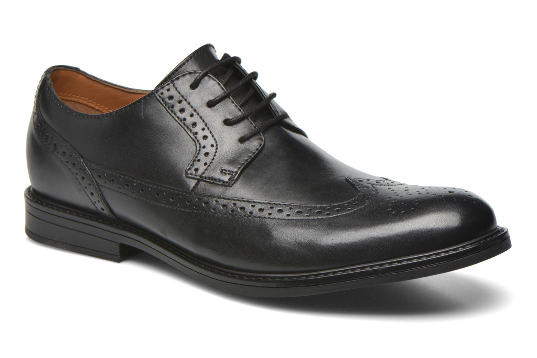 Zapatos con cordones Clarks Beckfield Limit Negro vista de detalle / par