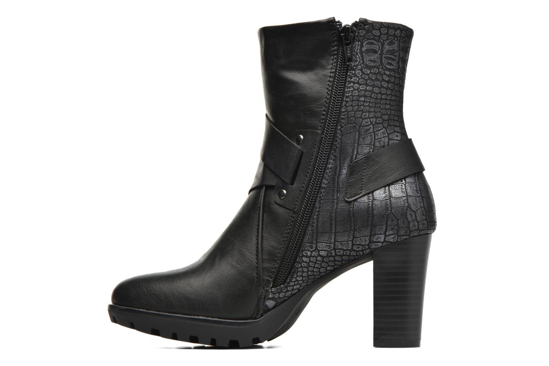 Bottines et boots Dockers Raimunde Noir vue face