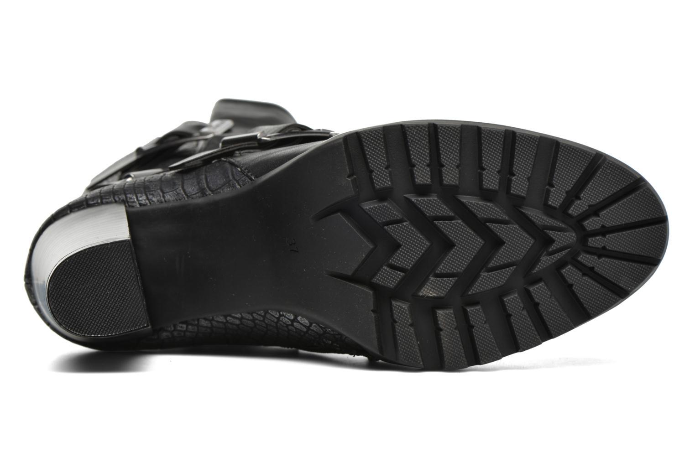 Bottines et boots Dockers Raimunde Noir vue haut