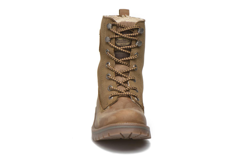 Bottines et boots Dockers Eliza Vert vue portées chaussures