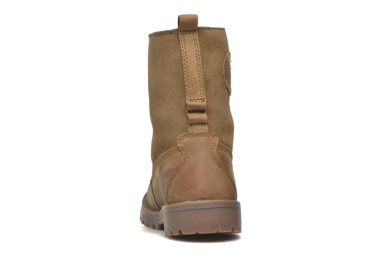 Bottines et boots Dockers Eliza Vert vue droite
