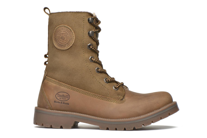 Bottines et boots Dockers Eliza Vert vue derrière