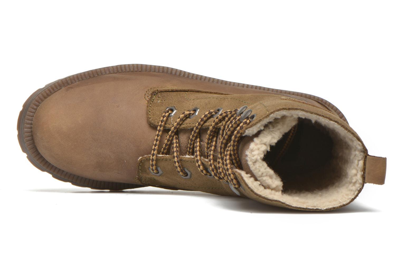 Bottines et boots Dockers Eliza Vert vue gauche