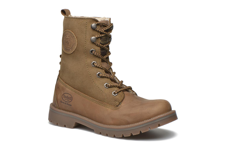 Bottines et boots Dockers Eliza Vert vue détail/paire