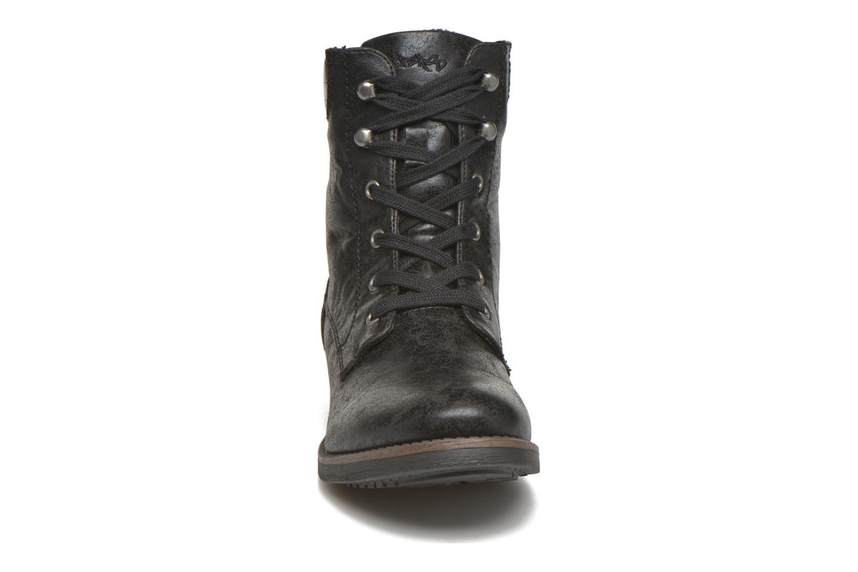 Bottines et boots Dockers Gaella Noir vue portées chaussures