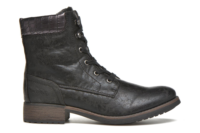 Bottines et boots Dockers Gaella Noir vue derrière