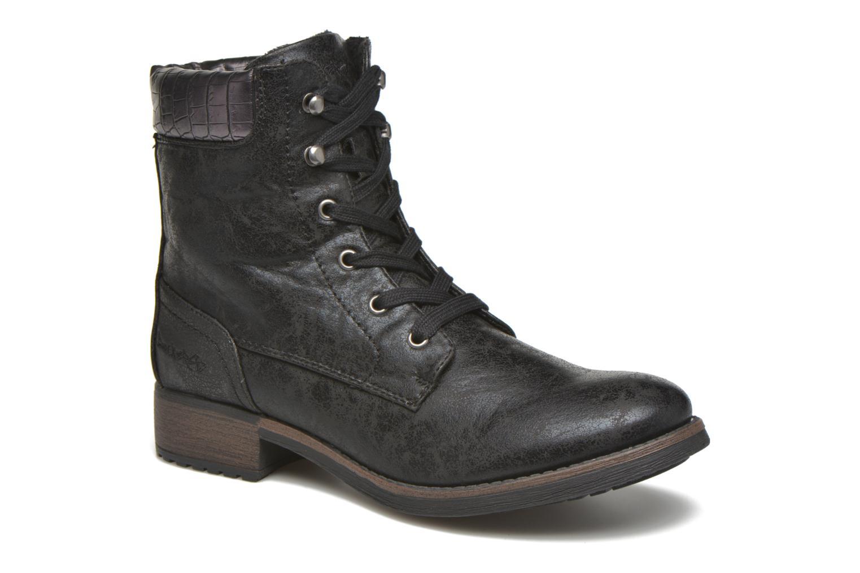 Bottines et boots Dockers Gaella Noir vue détail/paire