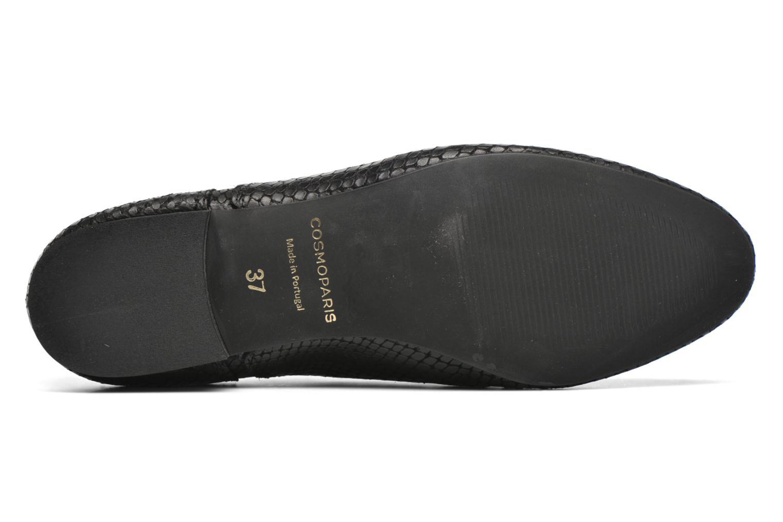 Chaussures à lacets COSMOPARIS Viani/Pyt Noir vue haut