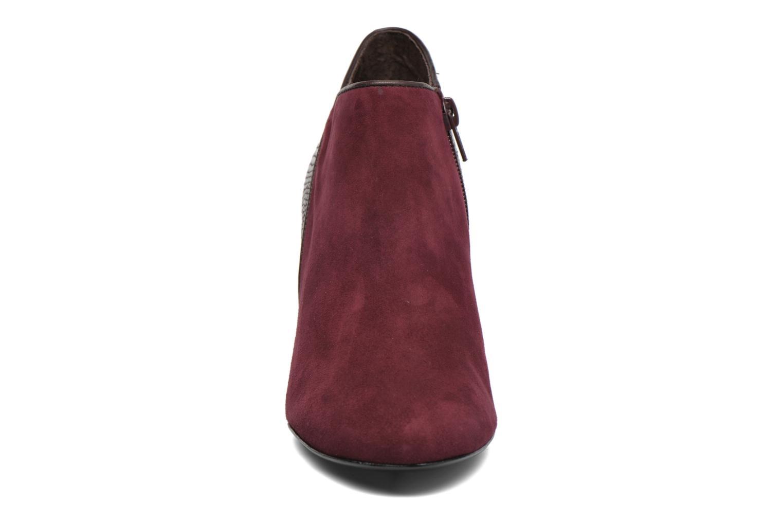Bottines et boots COSMOPARIS Gaya/Bipyt Bordeaux vue portées chaussures